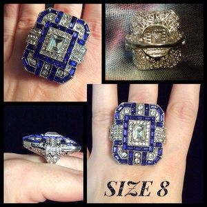 Jewelry - 🔥CLEARANCE🔥 Sparkling Ladies Fashion Ring SZ 8
